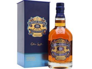 Купить Виски Chivas Regal 1 л 18 лет выдержки 40% в подарочной упаковке