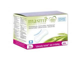 Купить MASMI Органические гигиенические ежедневные прокладки в индивидуальной упаковке 24шт.