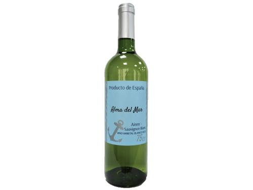 Купить Вино Alma del Mar Airen-Sauvignon Blanc белое сухое 0.75 л 11%